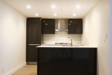 Partially Furnished Kitchen in Vancouver