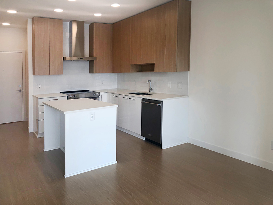 Spacious and Furnished Modular Kitchen