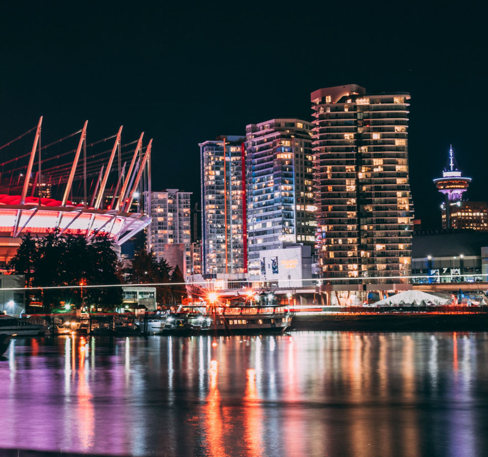 Night Vancouver