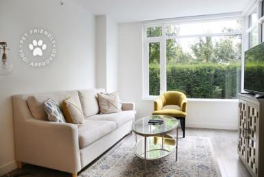 Semi Furnished Living Room