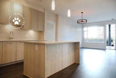 Furnished Modular Kitchen in Lower Lonsdale