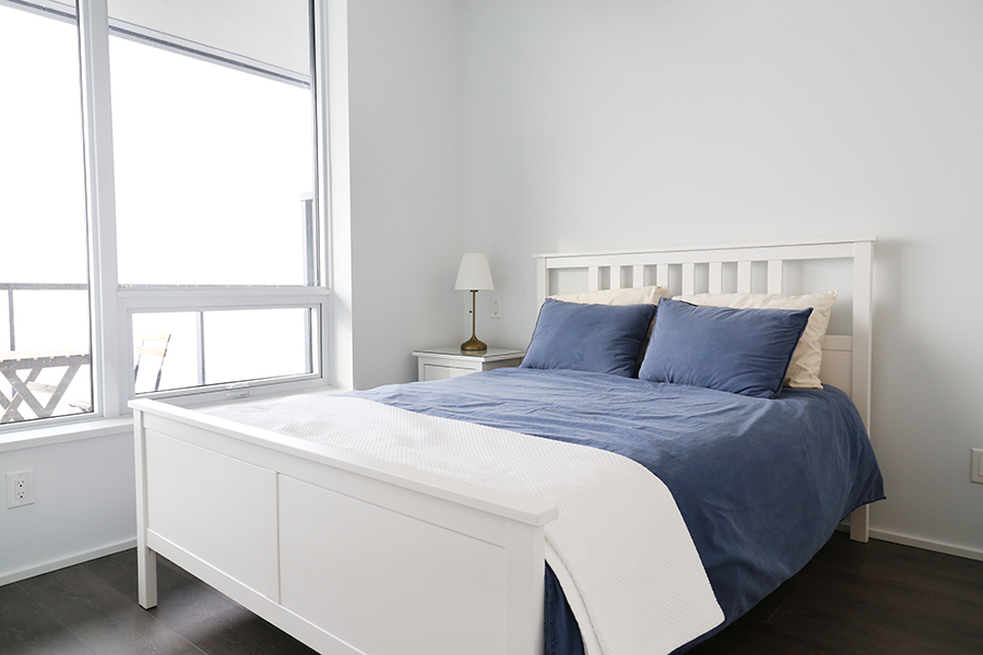 Furnished Modern Bedroom