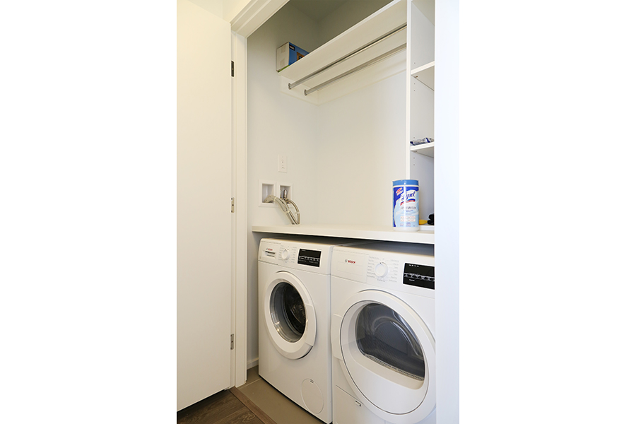 Integrated Appliances-Washine Machine